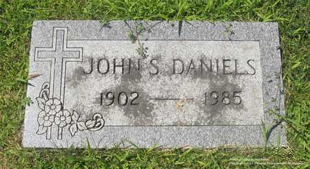 DANIELS, JOHN S. - Lucas County, Ohio | JOHN S. DANIELS - Ohio Gravestone Photos