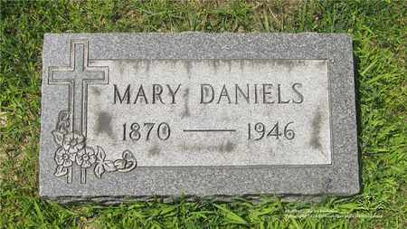 DANIELS, MARY - Lucas County, Ohio | MARY DANIELS - Ohio Gravestone Photos