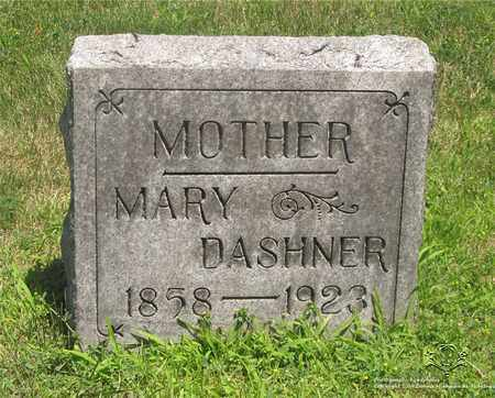 DASHNER, MARY - Lucas County, Ohio | MARY DASHNER - Ohio Gravestone Photos