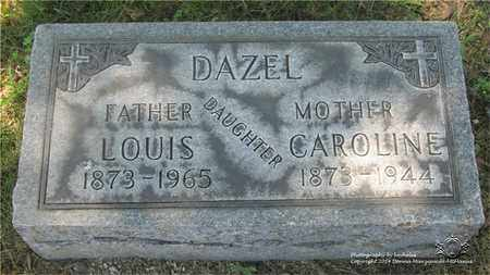 DAZEL, LOUIS - Lucas County, Ohio | LOUIS DAZEL - Ohio Gravestone Photos