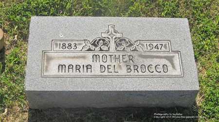DELBROCCO, MARIA - Lucas County, Ohio | MARIA DELBROCCO - Ohio Gravestone Photos