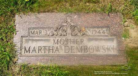 BISKUP DEMBOWSKI, MARTHA - Lucas County, Ohio | MARTHA BISKUP DEMBOWSKI - Ohio Gravestone Photos