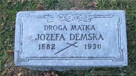 DEMSKA, JOZEFA - Lucas County, Ohio | JOZEFA DEMSKA - Ohio Gravestone Photos