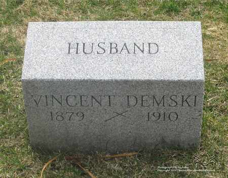 DEMSKI, VINCENT - Lucas County, Ohio | VINCENT DEMSKI - Ohio Gravestone Photos