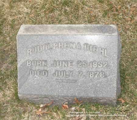 DIEHL, RUDOLPHENA - Lucas County, Ohio | RUDOLPHENA DIEHL - Ohio Gravestone Photos
