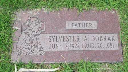 DOBRAK, SYLVESTER A. - Lucas County, Ohio | SYLVESTER A. DOBRAK - Ohio Gravestone Photos
