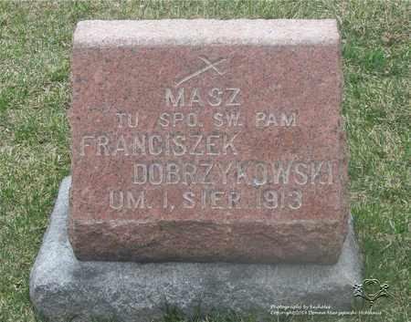 DOBRZYKOWSKI, FRANCISZEK - Lucas County, Ohio | FRANCISZEK DOBRZYKOWSKI - Ohio Gravestone Photos