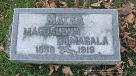 DOMAGALA, MAGDALENA - Lucas County, Ohio | MAGDALENA DOMAGALA - Ohio Gravestone Photos