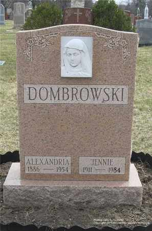 DOMBROWSKI, JENNIE - Lucas County, Ohio | JENNIE DOMBROWSKI - Ohio Gravestone Photos