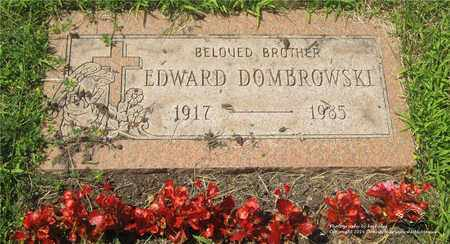 DOMBROWSKI, EDWARD - Lucas County, Ohio | EDWARD DOMBROWSKI - Ohio Gravestone Photos