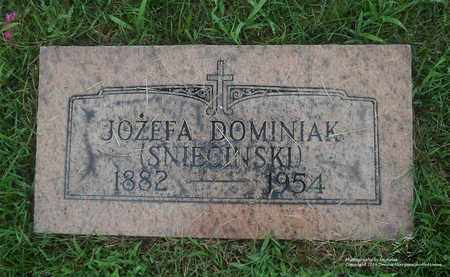 DOMINIAK, JOZEFA - Lucas County, Ohio | JOZEFA DOMINIAK - Ohio Gravestone Photos