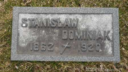 DOMINIAK, STANISLAW - Lucas County, Ohio | STANISLAW DOMINIAK - Ohio Gravestone Photos