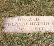 BLANKENSTEIN, DONALD - Lucas County, Ohio | DONALD BLANKENSTEIN - Ohio Gravestone Photos