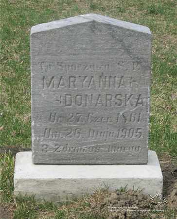 DONARSKA, MARYANNA - Lucas County, Ohio | MARYANNA DONARSKA - Ohio Gravestone Photos