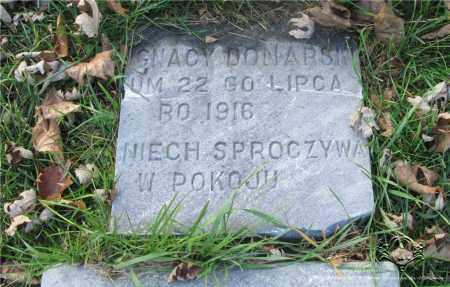 DONARSKI, IGNACY - Lucas County, Ohio | IGNACY DONARSKI - Ohio Gravestone Photos