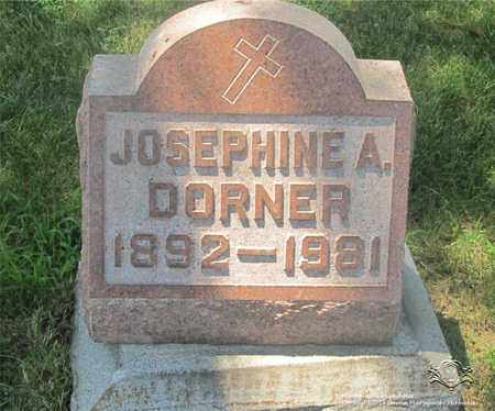 DORNER, JOSEPHINE A. - Lucas County, Ohio | JOSEPHINE A. DORNER - Ohio Gravestone Photos