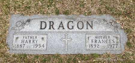 DRAGON, FRANCES - Lucas County, Ohio | FRANCES DRAGON - Ohio Gravestone Photos