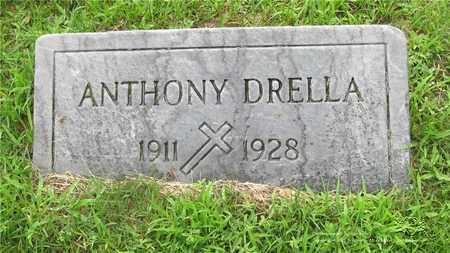 DRELLA, ANTHONY - Lucas County, Ohio | ANTHONY DRELLA - Ohio Gravestone Photos