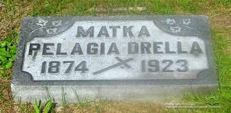 DRELLA, PELAGIA - Lucas County, Ohio | PELAGIA DRELLA - Ohio Gravestone Photos