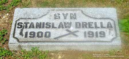 DRELLA, STANISLAW - Lucas County, Ohio | STANISLAW DRELLA - Ohio Gravestone Photos
