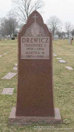 DREWICZ, MARTHA M. - Lucas County, Ohio | MARTHA M. DREWICZ - Ohio Gravestone Photos