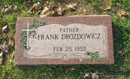 DROZDOWICZ, FRANK - Lucas County, Ohio | FRANK DROZDOWICZ - Ohio Gravestone Photos