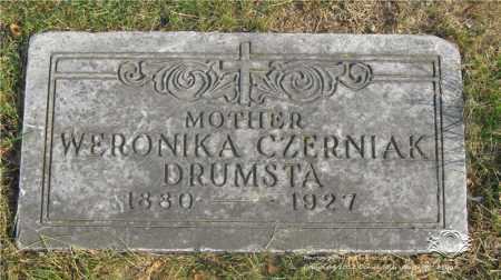 WOJCIECHOWSKI DRUMSTA, WERONIKA CZERNIAK - Lucas County, Ohio | WERONIKA CZERNIAK WOJCIECHOWSKI DRUMSTA - Ohio Gravestone Photos