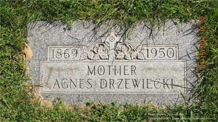 BUKOWSKI DRZEWIECKI, AGNES - Lucas County, Ohio | AGNES BUKOWSKI DRZEWIECKI - Ohio Gravestone Photos