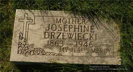 DRZEWIECKI, JOSEPHINE - Lucas County, Ohio | JOSEPHINE DRZEWIECKI - Ohio Gravestone Photos