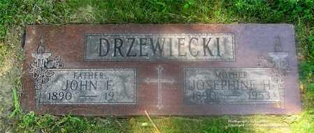 WIZIECKI DRZEWIECKI, JOSEPHINE H. - Lucas County, Ohio | JOSEPHINE H. WIZIECKI DRZEWIECKI - Ohio Gravestone Photos