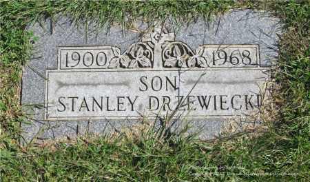 DRZEWIECKI, STANLEY - Lucas County, Ohio | STANLEY DRZEWIECKI - Ohio Gravestone Photos