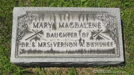 DUNSHEE, MARY MAGDALENE - Lucas County, Ohio | MARY MAGDALENE DUNSHEE - Ohio Gravestone Photos