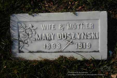 DUSZYNSKI, MARY - Lucas County, Ohio | MARY DUSZYNSKI - Ohio Gravestone Photos