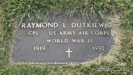 DUTKIEWICZ, RAYMOND L. - Lucas County, Ohio | RAYMOND L. DUTKIEWICZ - Ohio Gravestone Photos