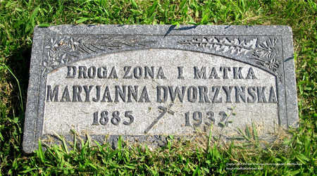 DWORZYNSKA, MARYJANNA - Lucas County, Ohio | MARYJANNA DWORZYNSKA - Ohio Gravestone Photos