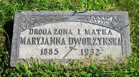 DWORZYNSKA, MARYJANNA - Lucas County, Ohio | MARYJANNA DWORZYNSKA - Ohio Gravestone Photos