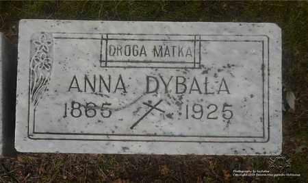 DYBALA, ANNA - Lucas County, Ohio | ANNA DYBALA - Ohio Gravestone Photos