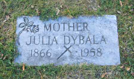 DYBALA, JULIA - Lucas County, Ohio | JULIA DYBALA - Ohio Gravestone Photos
