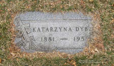 DYBZA, KATARZYNA - Lucas County, Ohio | KATARZYNA DYBZA - Ohio Gravestone Photos