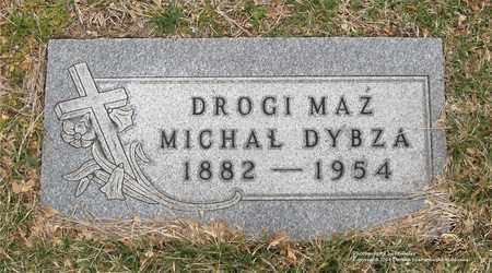 DYBZA, MICHAL - Lucas County, Ohio | MICHAL DYBZA - Ohio Gravestone Photos