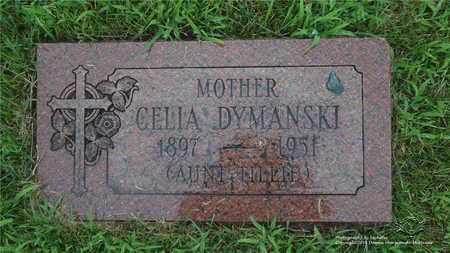 DYMANSKI, CELIA - Lucas County, Ohio | CELIA DYMANSKI - Ohio Gravestone Photos