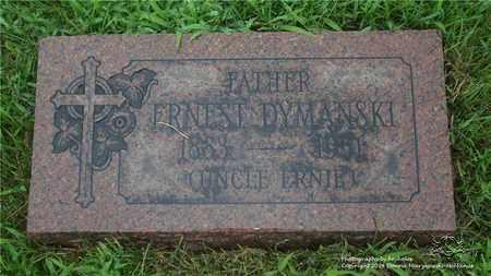 DYMANSKI, ERNEST - Lucas County, Ohio | ERNEST DYMANSKI - Ohio Gravestone Photos