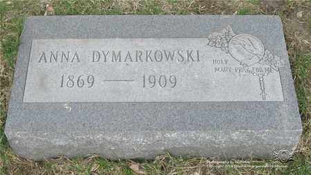 DYMARKOWSKI, ANNA - Lucas County, Ohio | ANNA DYMARKOWSKI - Ohio Gravestone Photos