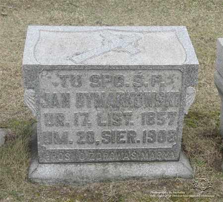 DYMARKOWSKI, JAN - Lucas County, Ohio | JAN DYMARKOWSKI - Ohio Gravestone Photos
