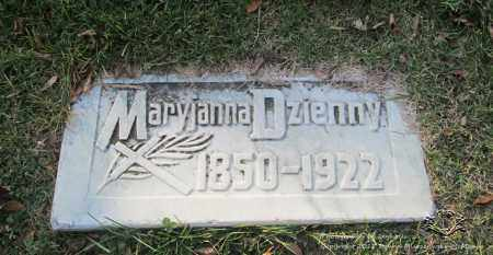 DZIENNY, MARYJANNA - Lucas County, Ohio | MARYJANNA DZIENNY - Ohio Gravestone Photos