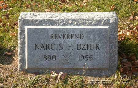 DZIUK, NARCIS F. - Lucas County, Ohio | NARCIS F. DZIUK - Ohio Gravestone Photos