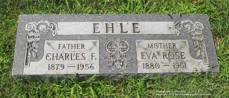 EHLE, EVA ROSE - Lucas County, Ohio | EVA ROSE EHLE - Ohio Gravestone Photos