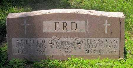 ERD, THERESA MARY - Lucas County, Ohio | THERESA MARY ERD - Ohio Gravestone Photos