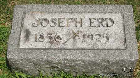 ERD, JOSEPH - Lucas County, Ohio | JOSEPH ERD - Ohio Gravestone Photos