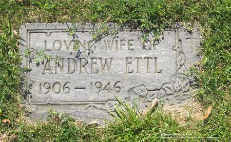 SECREST ETTL, VIOLET - Lucas County, Ohio | VIOLET SECREST ETTL - Ohio Gravestone Photos